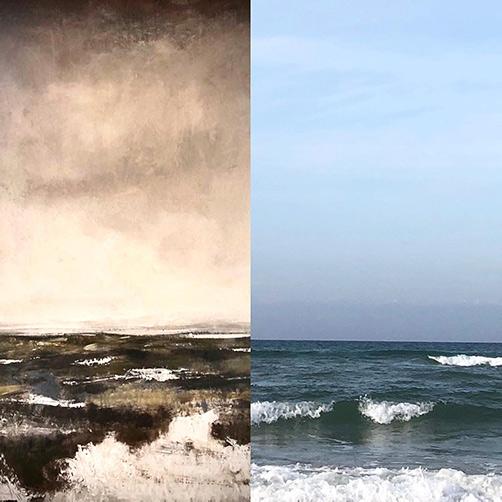 inspiration hav stor tavla abstrakt Tomas Vagner