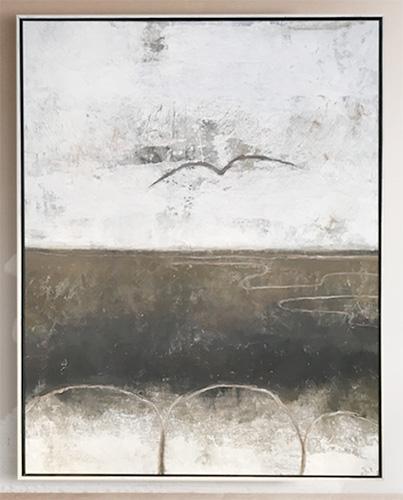freedom abstract stor tavla