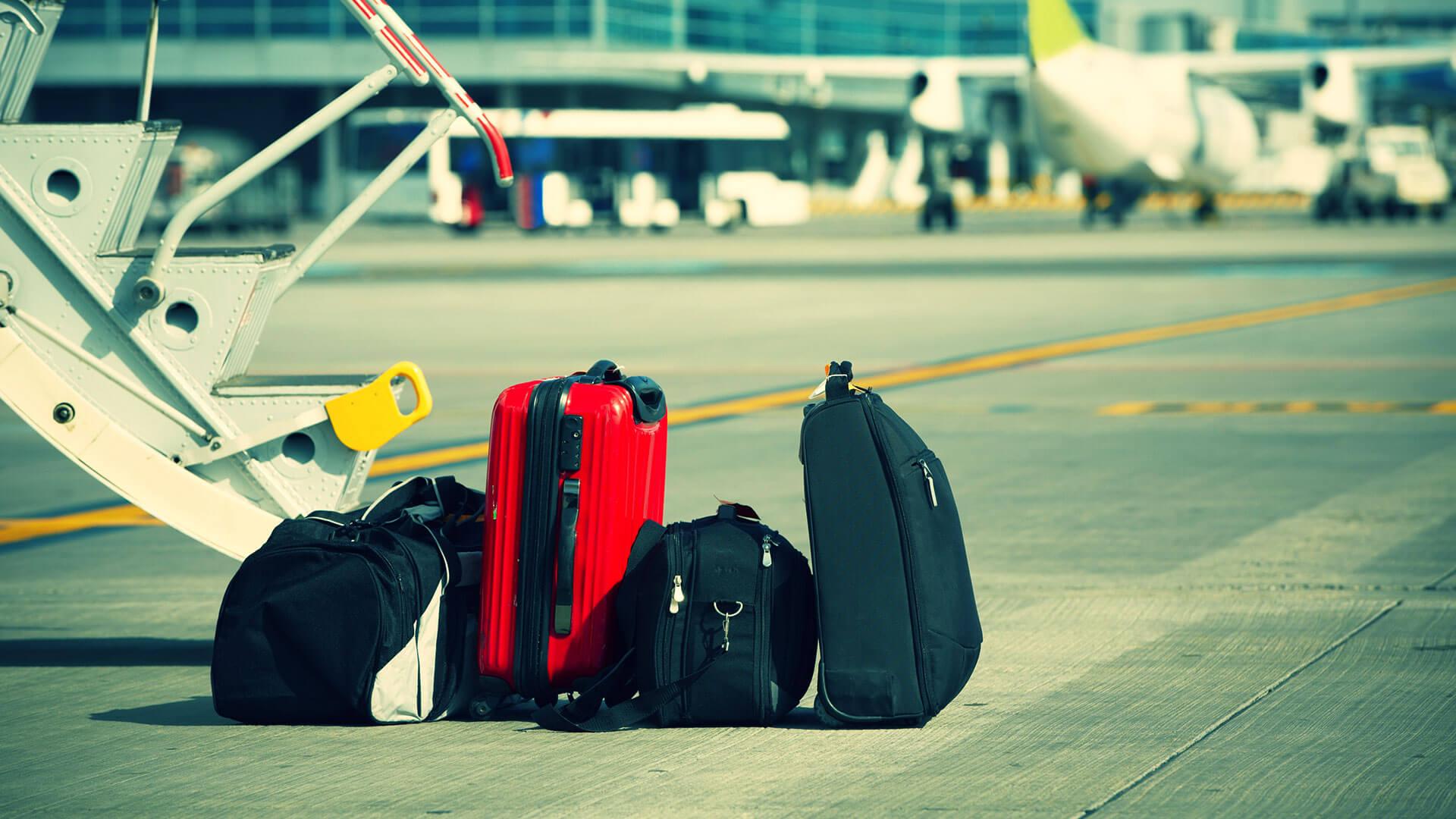 airport luggage alicante valencia