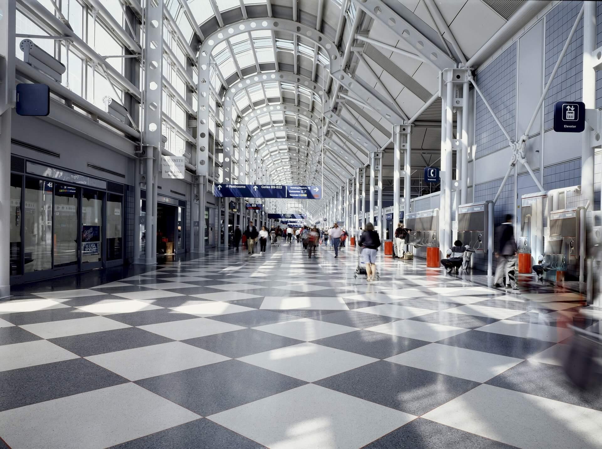 Chicago O'Hare terminal