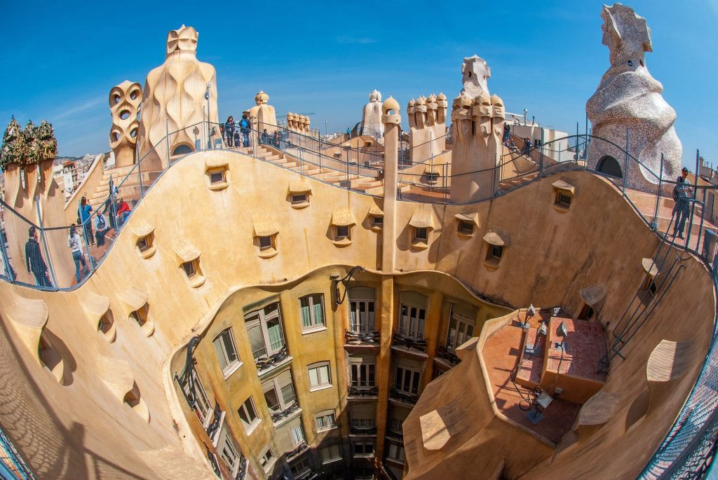 Gaudi - Casa Milà Barcelona