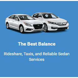 Rideshare, Taxis, and Reliable Sedan Services