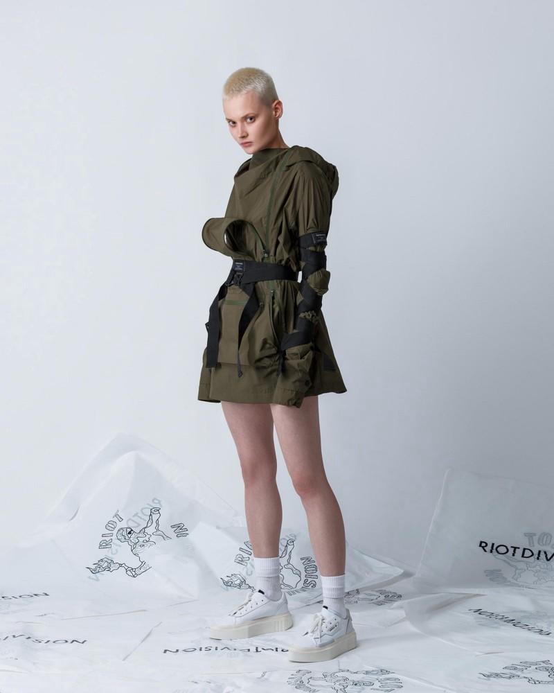 Riot Division parka - as women's techwear