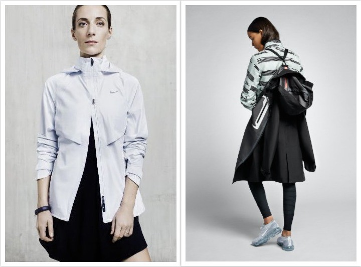 Johanna F. Schneider, designing techwear for women, for Nike ACG.