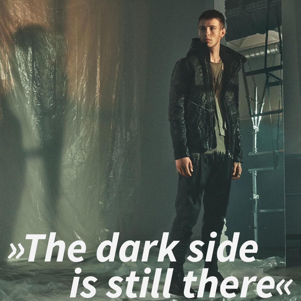 "Enfin Levé Michael van Diem interview quote: ""The dark side is still there"""