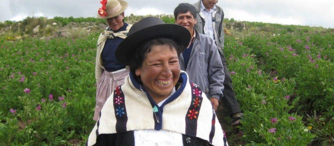 Ethiquable_Membres de l'organisation péruvienne AGROPIA_parcelle CHUQUITAMBO (39)