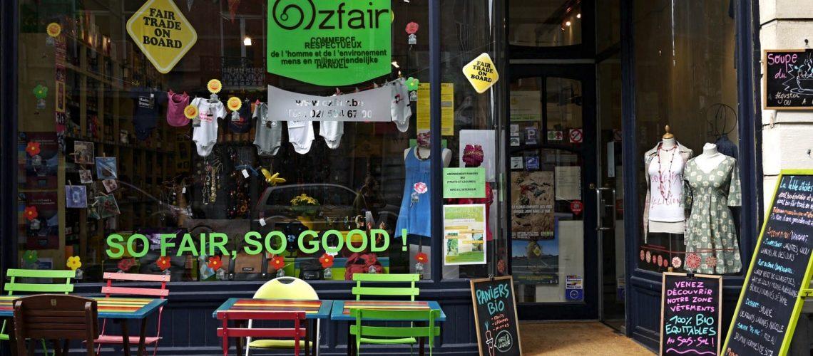 Ozfair Vitrine du magasin Ozfair - Copyright Ozfair