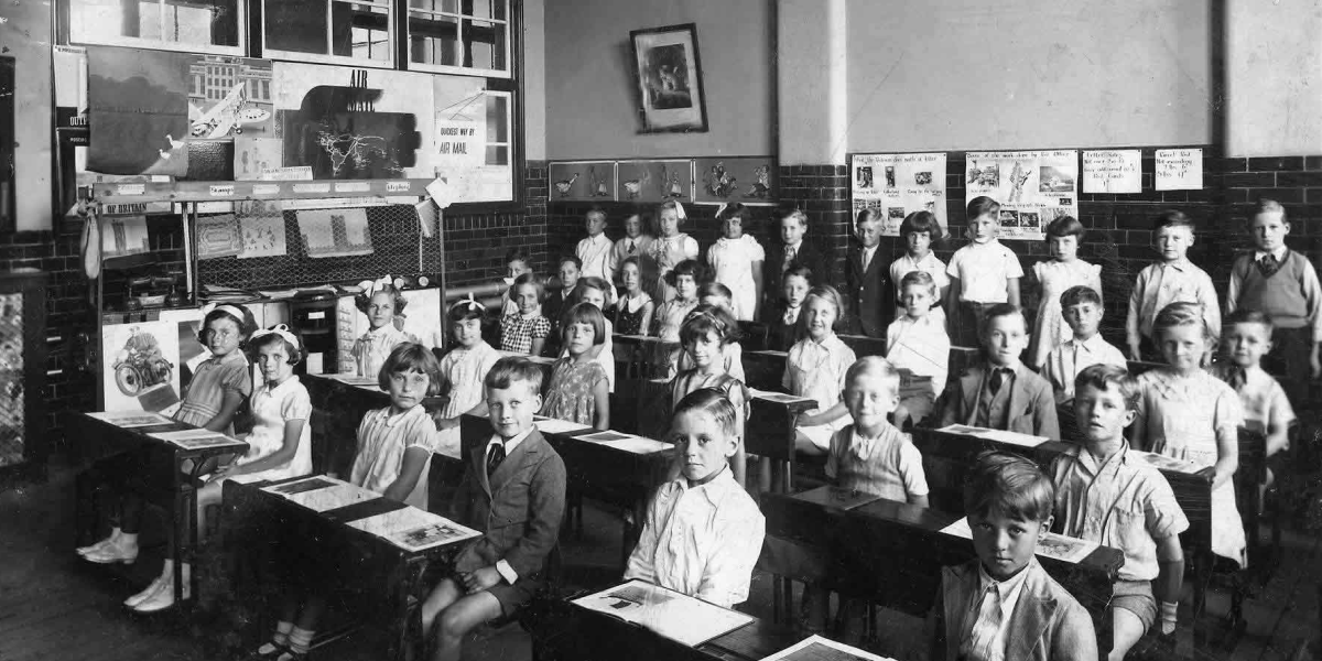 Classroom in the 30's-40's
