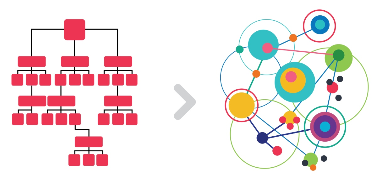 From hierarchy to Holacracy
