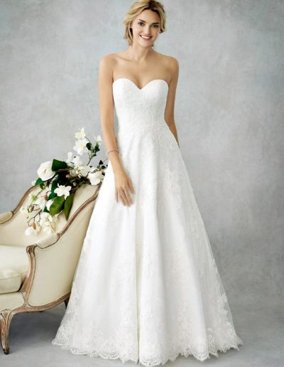 Brautkleid von Kenneth Winston