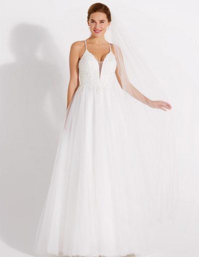 Brautkleid 08-4102 von Lilly.