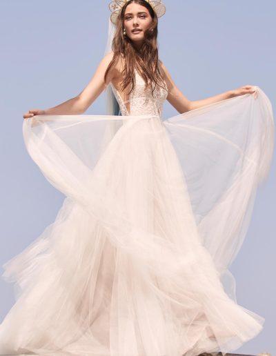 Brautkleid Delena von Watters.