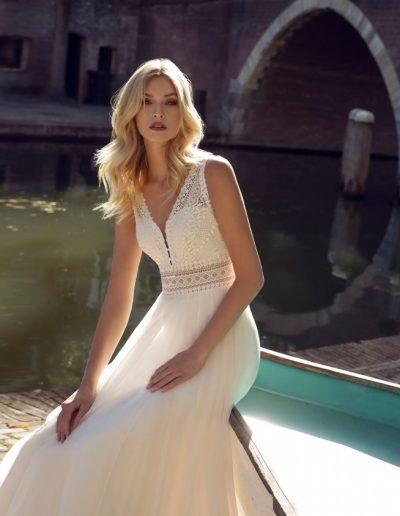 Brautkleid Kira von Modeca.