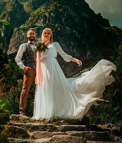 Alina H. mit Ehemann