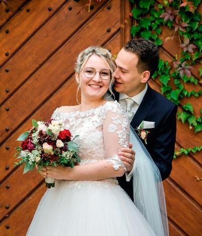 Carina L. mit Ehemann