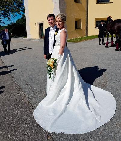 Helene S. mit Ehemann