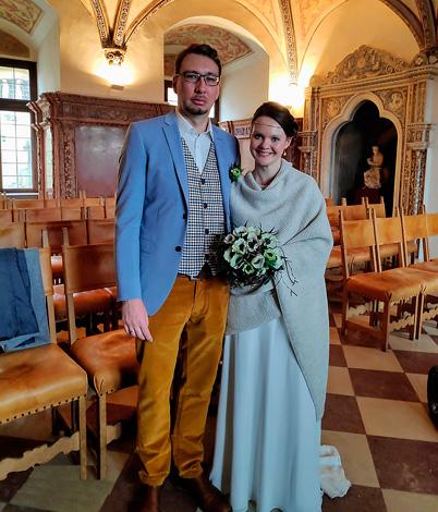 Isabella T. mit Ehemann