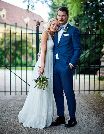 Katharina W. mit Ehemann