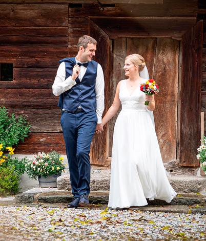 Kathrin K. mit Ehemann