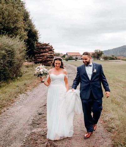 Laura F. mit Ehemann