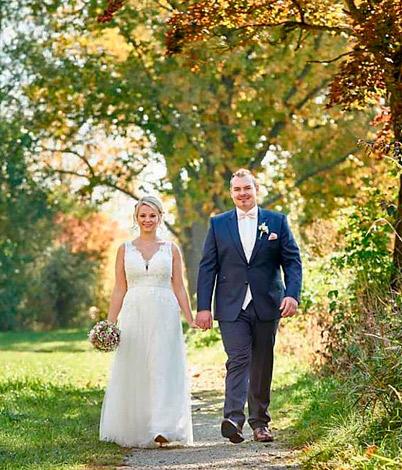 Lena N. mit Ehemann