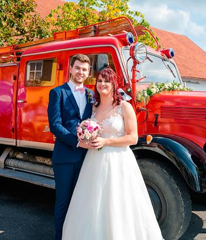 Lisa G. mit Ehemann