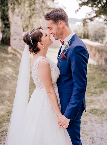 Lisa J. mit Ehemann