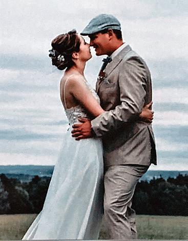 Maria W. mit Ehemann