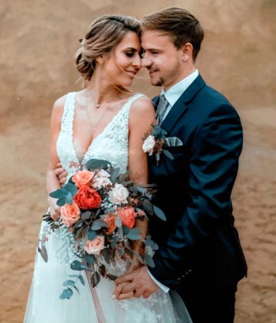 Martina R. mit Ehemann