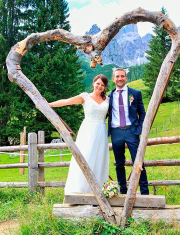 Sabine S. mit Ehemann
