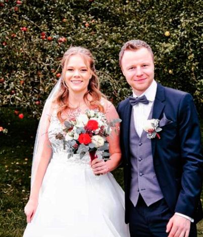 Sabrina W. mit Ehemann