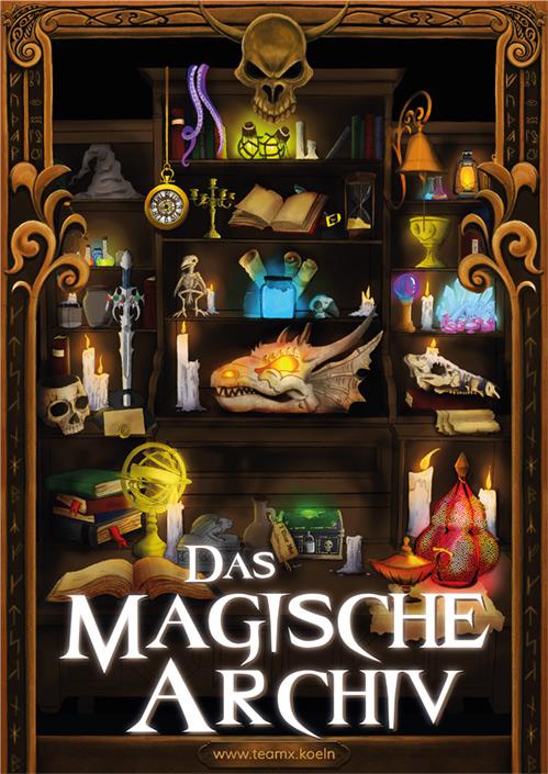 Magisches Archiv Escape Raum