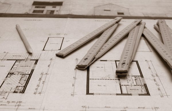 Arkitekttegning til erhverv