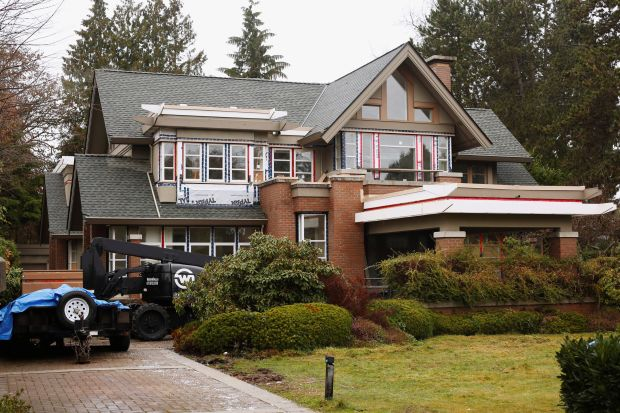 A home owned by the family of Meng Wanzhou, in Vancouver, Canada.
