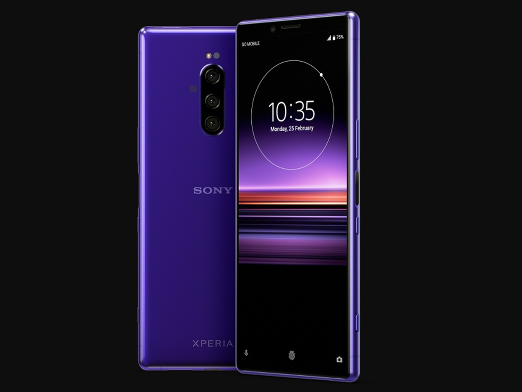 Alleged render of Sony Xperia 1. Image: Twitter