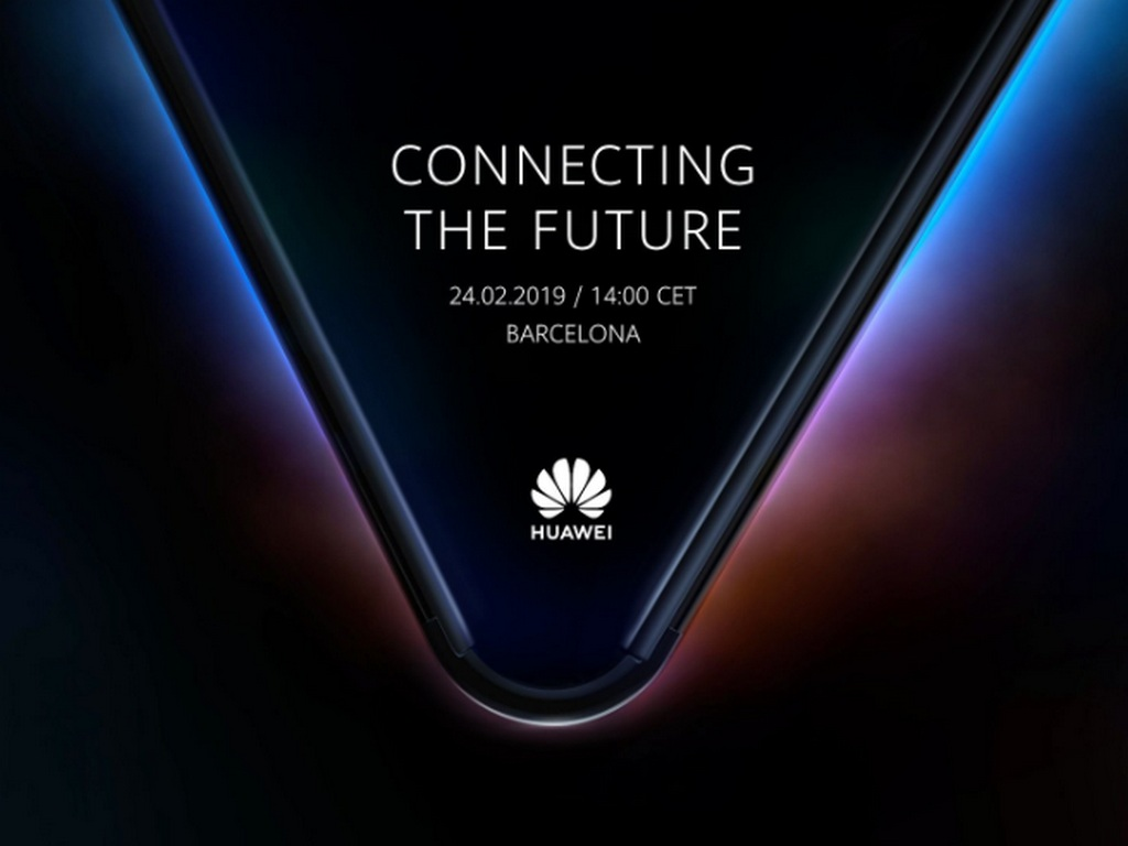 Huawei foldable smartphone. Image: Twitter
