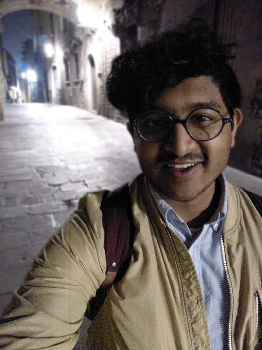 Portrait Mode Night Selfie Nokia 9 Camera testing