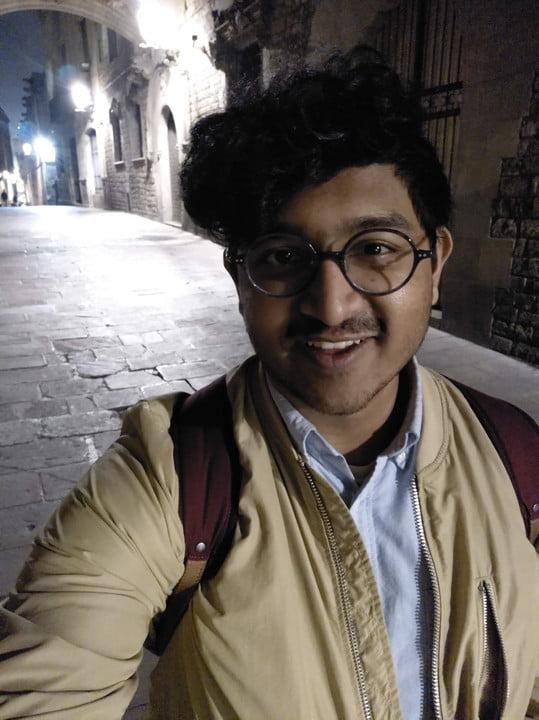Night Selfie Nokia 9 Camera testing