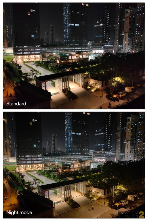 Night mode on the Realme X2 Pro. Image: tech2/Abhijit Dey