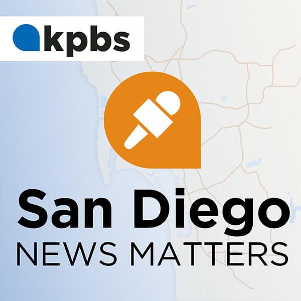 San Diego News Matters podcast branding