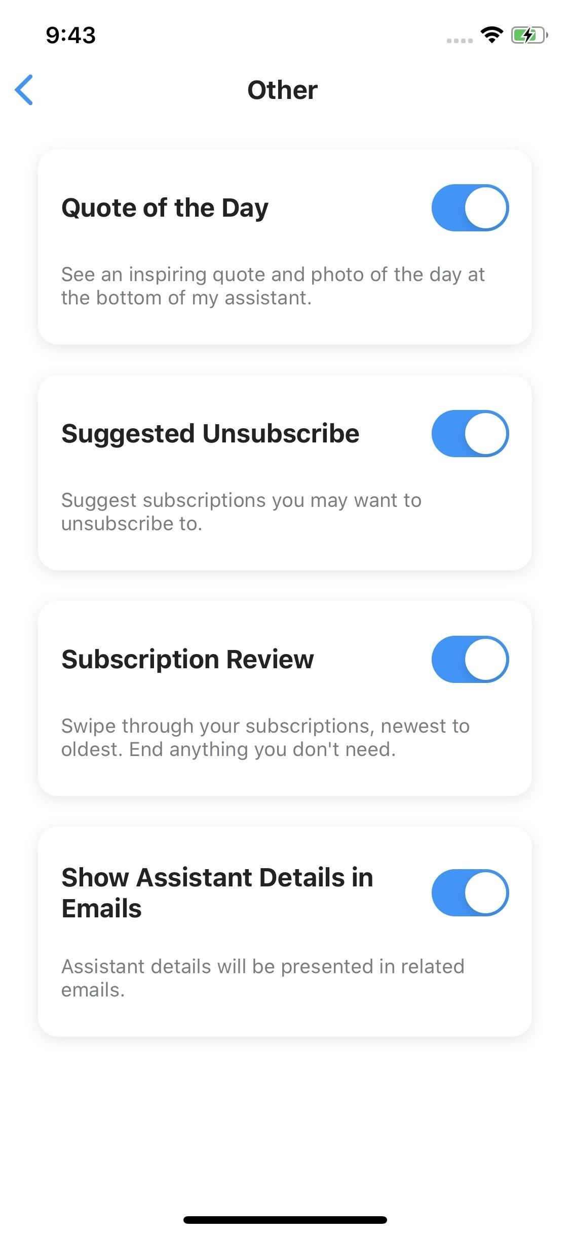 Personalize Edison Mail's Assistant to Make It Work for You