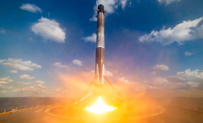 SpaceX Starlink mission, January 29, 2020