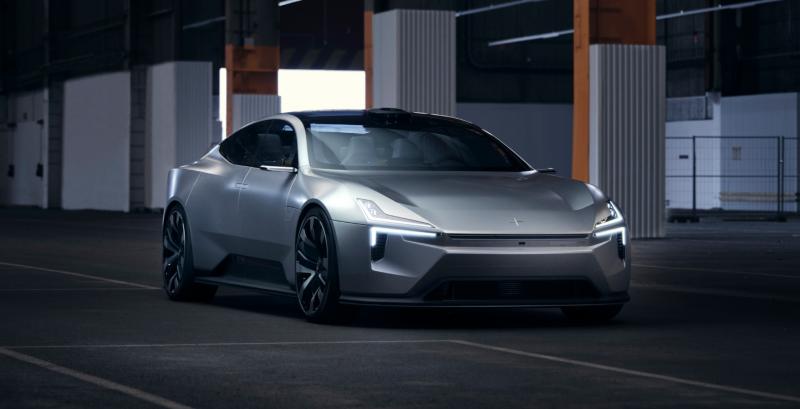 Electric Performance Brand Polestar Shares New Details of its 'Precept' Sedan