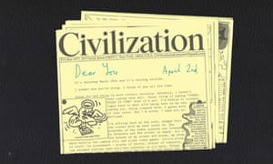 Duty noted ... a sample draft of Civilization's letter