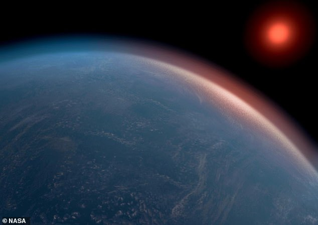 Exact details of the rocky world and the tiny star they orbit aren't available as they are so far away but astronomers say it could be similar to Earth. Stock image