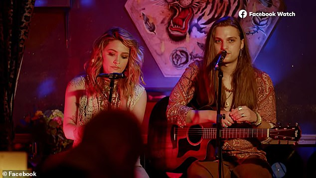 Paris (left) says that Glenn helped her realize that playing music was what she was born to do