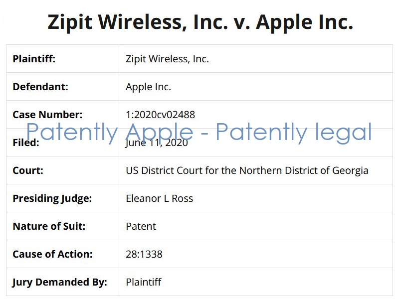 3 zipit v apple patent infringement case