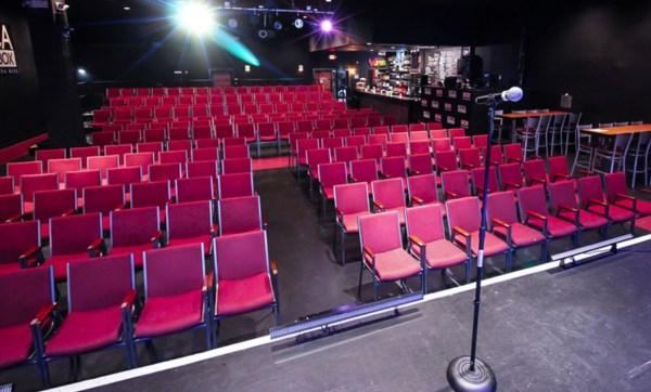 Boca black box seating