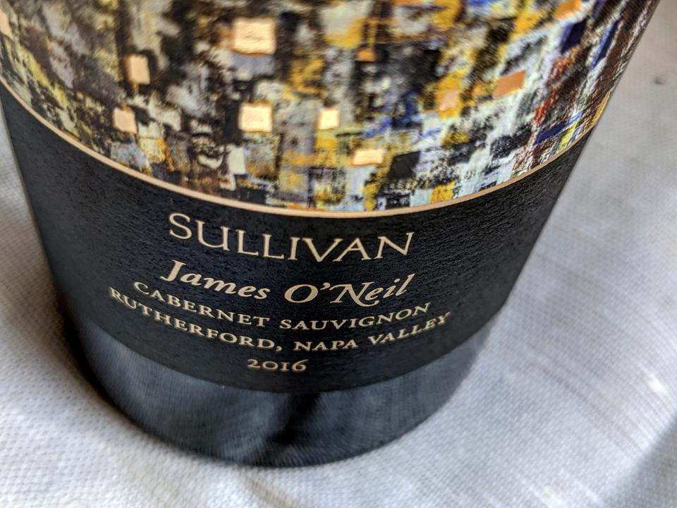 2016 Sullivan Rutherford 'James O'Neil' Cabernet Sauvignon, Napa Valley