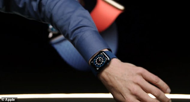 The Apple Watch Series 6 is the first design to come in a stunning blue aluminum finish and the firm's own Product Red, and users can choose from seven new bands when ordered